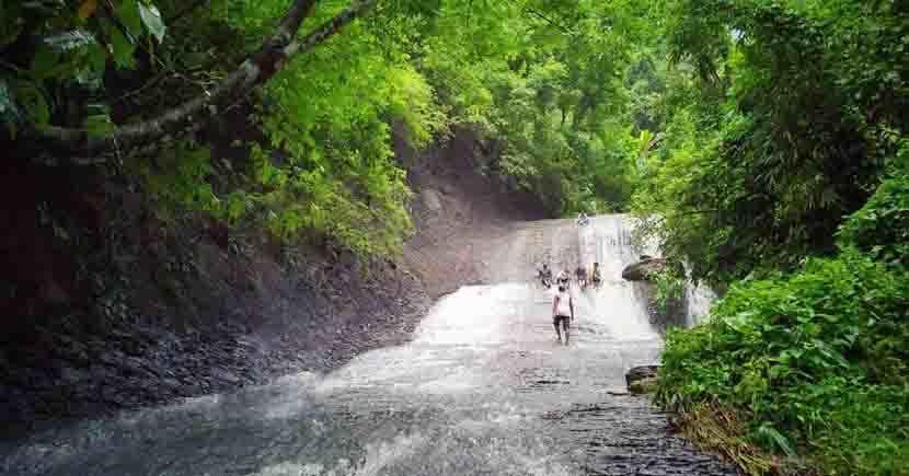 ghagra waterfall of rangamati