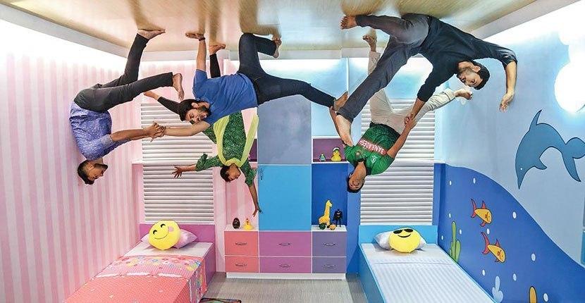 upside down gallary