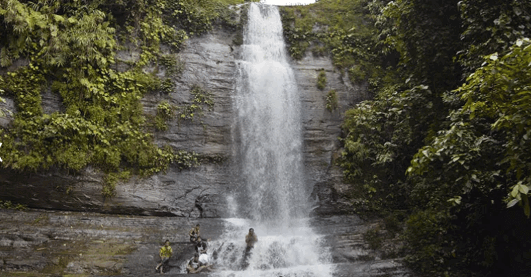 Taiduchara waterfall