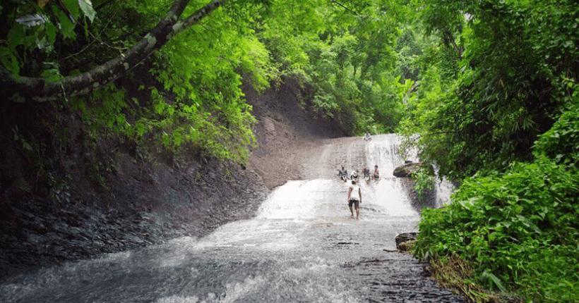 Ghagra Or Kolabagan Waterfall